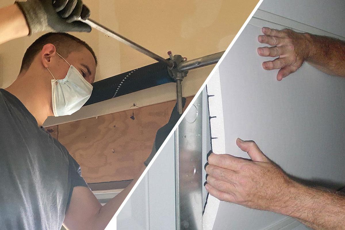 Garage door repair services in Sarasota & Bradenton