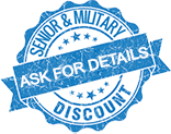 Military and senior discount Myhome Garage Doors